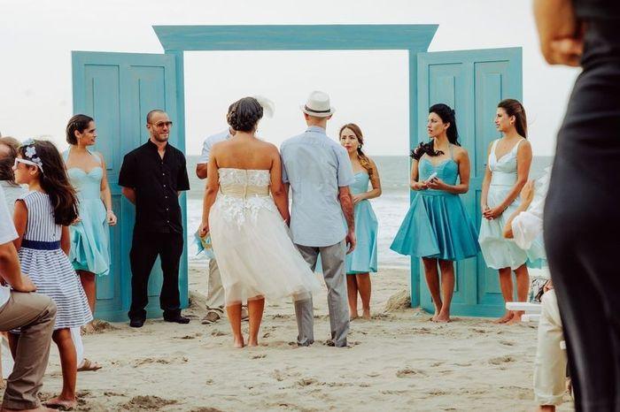 Especial bodas en la playa: Altares a orillas del mar 5