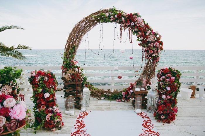 Especial bodas en la playa: Altares a orillas del mar 9