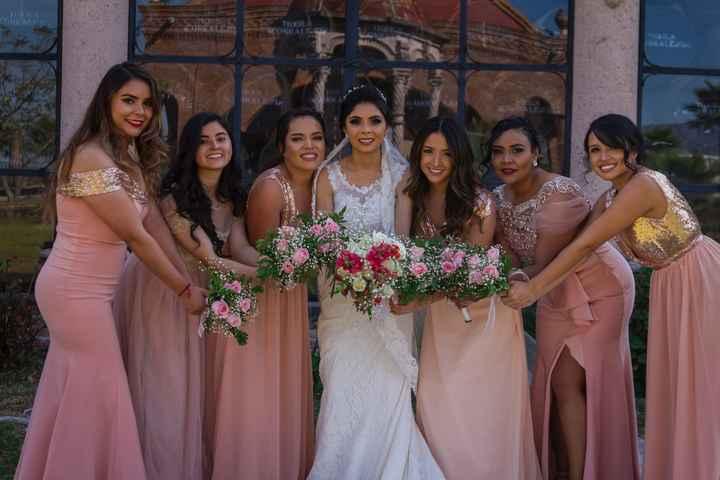 ¿Damas de honor o amigas de la novia? - 1
