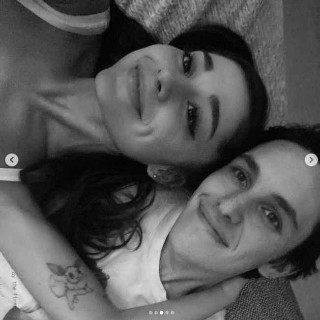 El compromiso de Ariana Grande con Dalton Gómez 💍 - 1