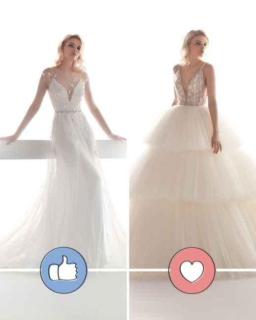 Si te casaras HOY: ¿Cuál de estos vestidos te pondrías? - 1
