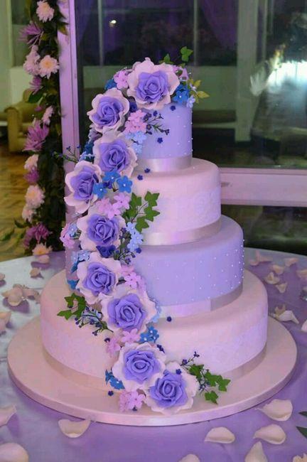 ¿cómo será la torta de tu boda? - 2