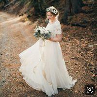 Vestido de novia ¿Strapless, tirantes o con mangas? - 1