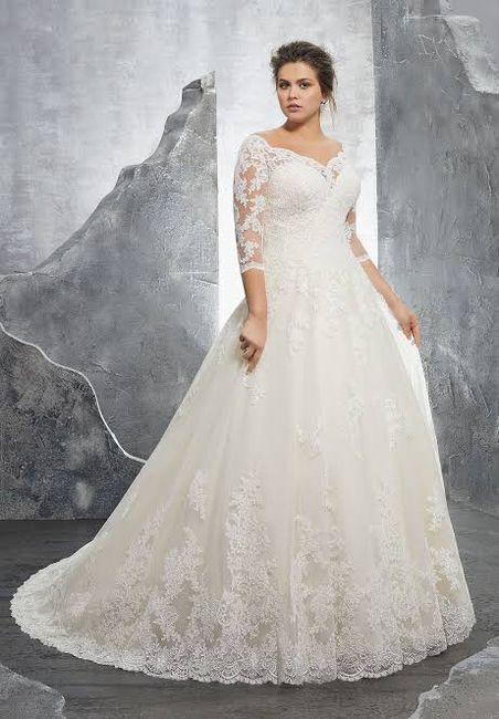 ¡Vestidos de novia para todo tipo de mujer! 2