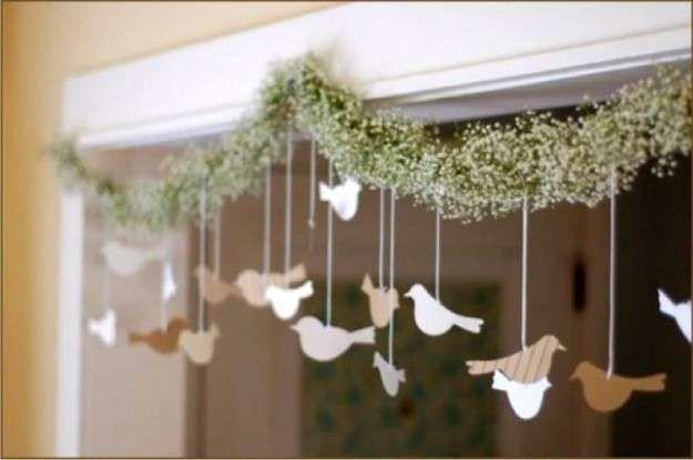Sugerencias para fiesta de matrimonio civil en casa 13