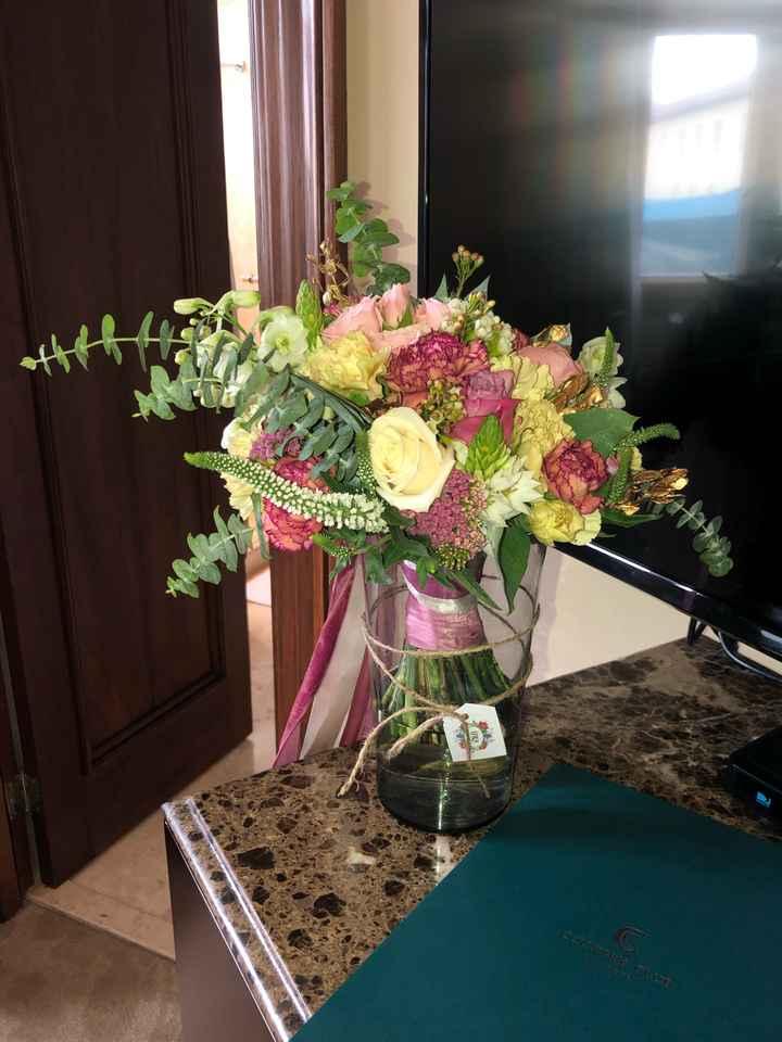 El bouquet de la novia ¿Cuál es tu favorito? 💜👰 - 2