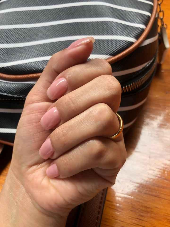 """Hoy le doy el """"Sí acepto"""" a... esta manicure - 1"""