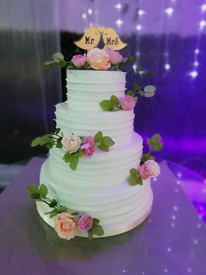 Las torta, ¿Minimalista o Maximalista? - 1