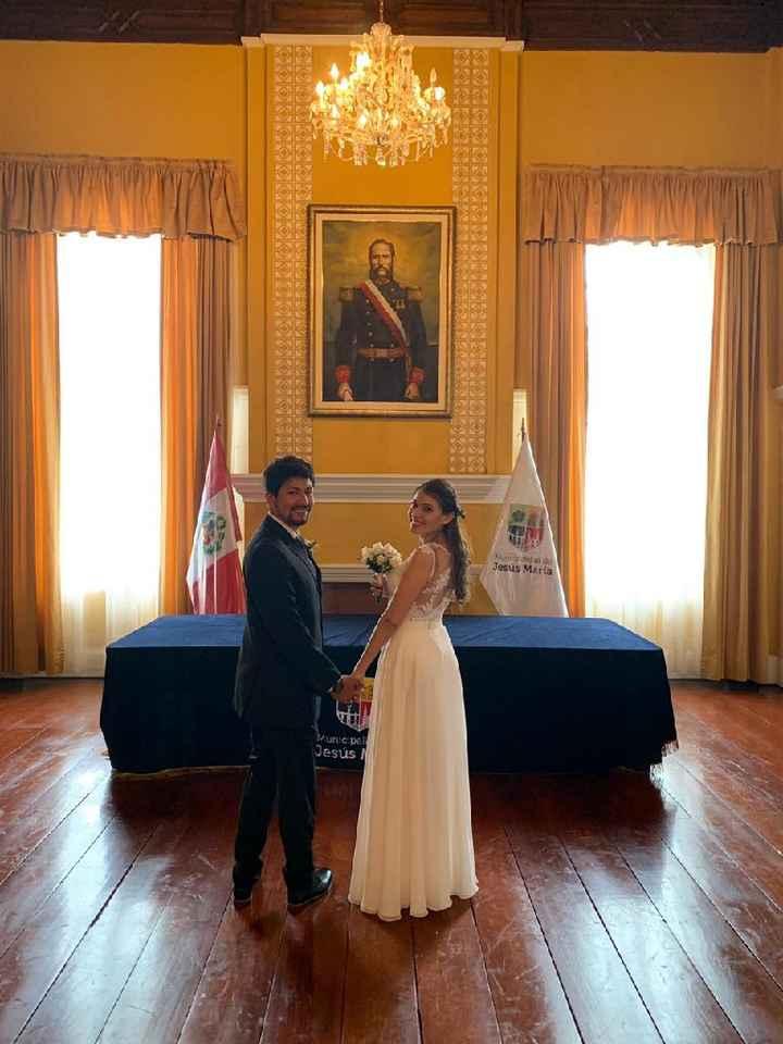 Vestido Matrimonio Civil - 1