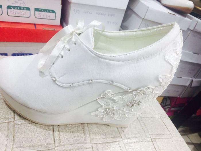 zapatillas de novia - shalom - palacio de las novias