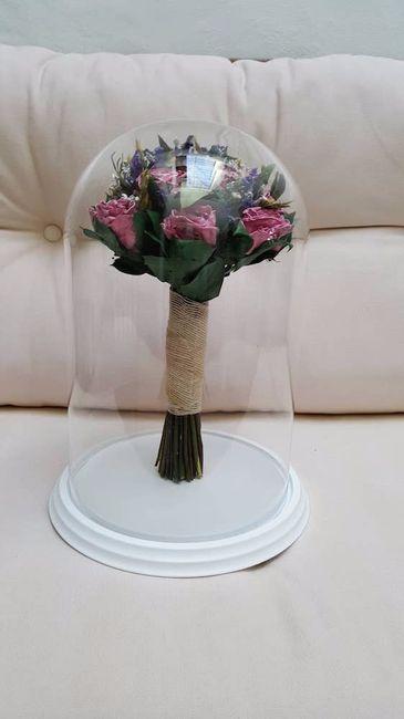 Ramo de novia urna o campana - Campana de cristal ikea ...