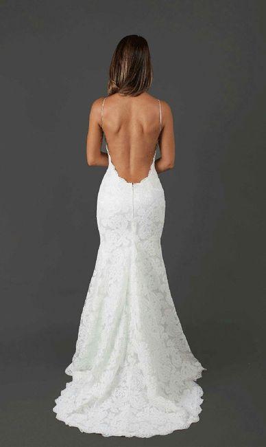vestidos de novia con espalda abierta