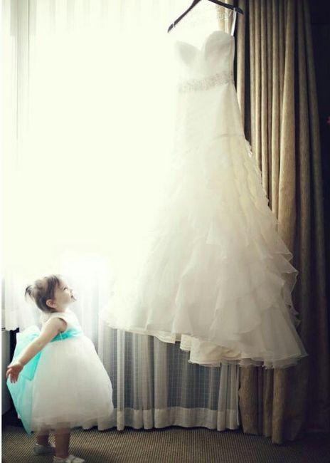 fotos que necesitas tomar de tu vestido de novia