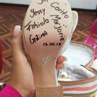 Escribir el nombre de tus amigos en los zapatos - 1
