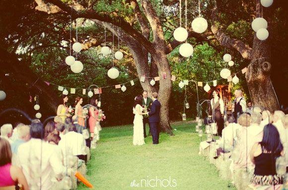 estilo de boda vintage o elegante