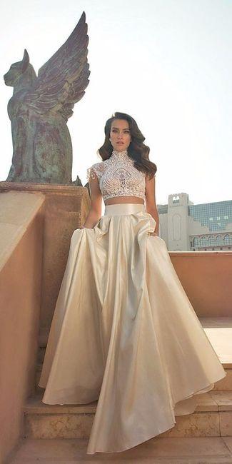 Look novia 100% romántico - Elige un vestido 5