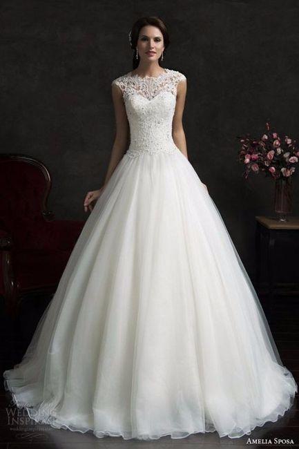 Look novia 100% romántico - Elige un vestido 1