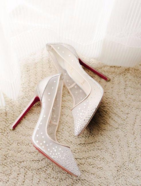 Look novia 100% romántico - Elige unos zapatos 1