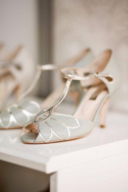 Look novia 100% romántico - Elige unos zapatos 4