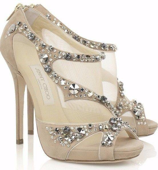 Look novia 100% romántico - Elige unos zapatos 5
