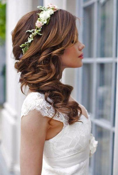 Look novia 100% romántico - Elige un peinado 1