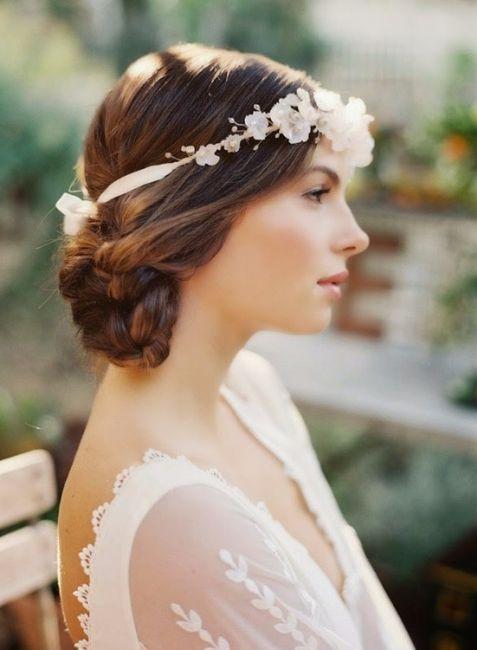 Look novia 100% romántico - Elige un peinado 4