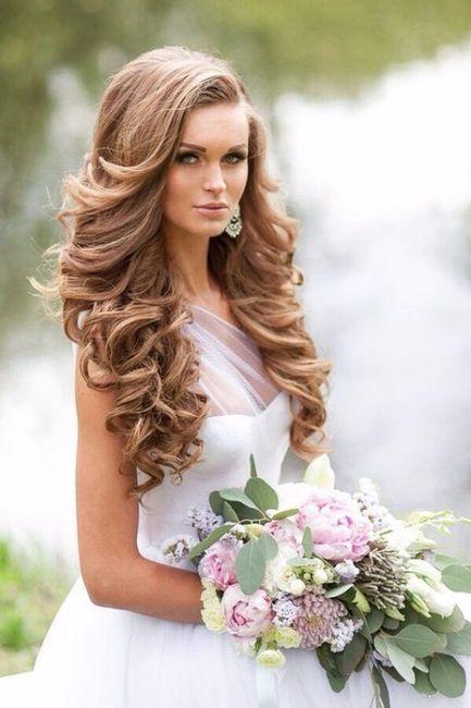 Look novia 100% romántico - Elige un peinado 5