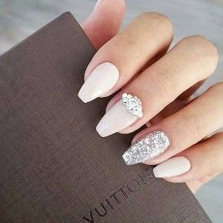 Look novia 100% romántico - La manicure 3