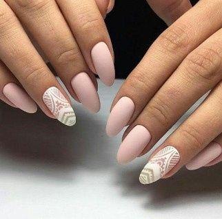 Look novia 100% romántico - La manicure 5