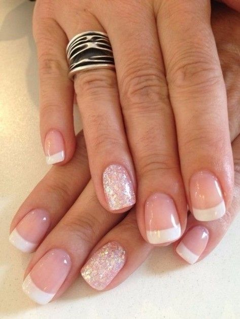 Look novia 100% romántico - La manicure 1