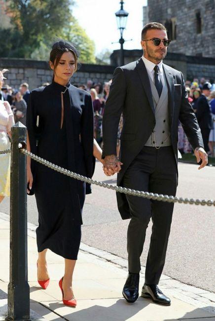 ¿0,5 o 10? Qué nota le pones al look de Victoria y David Beckham? 1