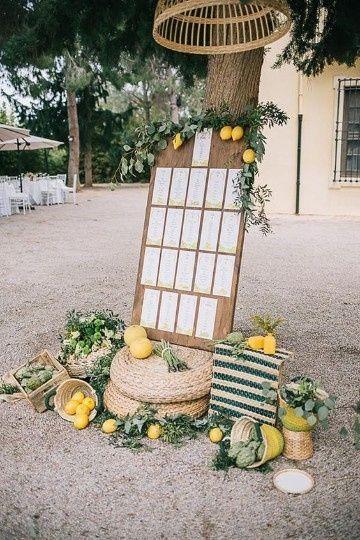 Detalles para un matrimonio campestre 11