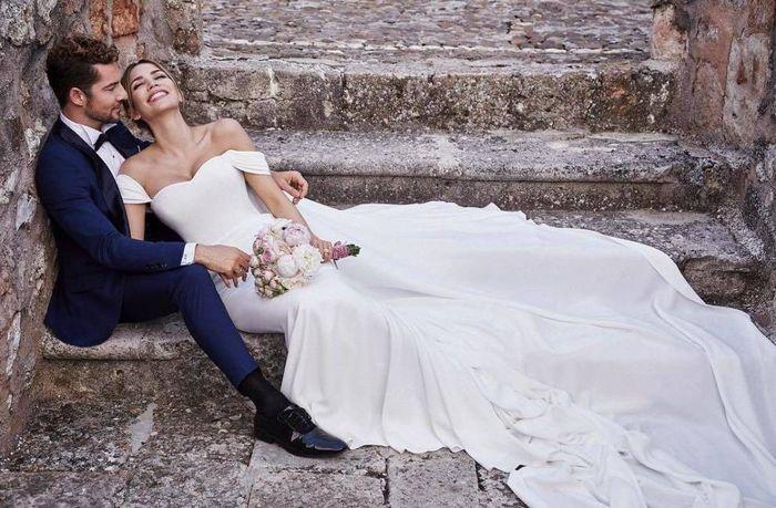 David Bisbal se casó con Rosanna Zanetti 1