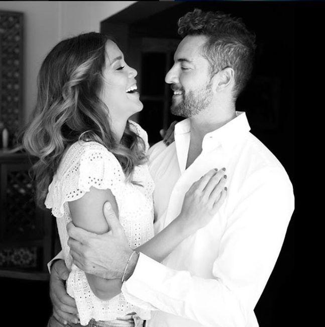 David Bisbal se casó con Rosanna Zanetti 2