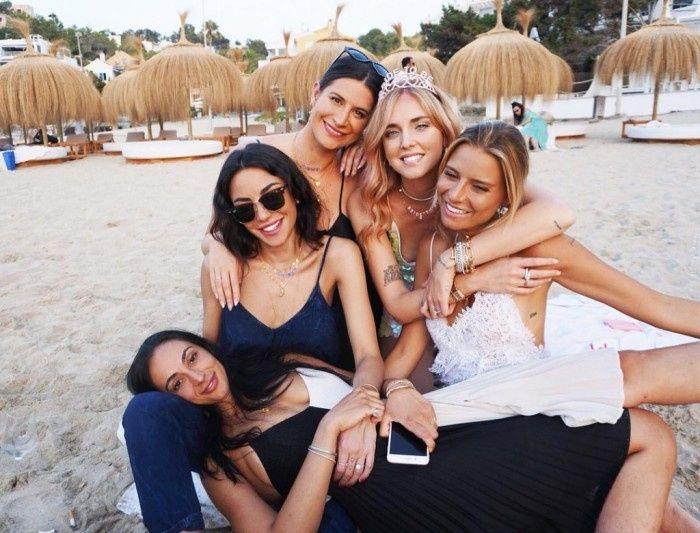 La despedida de soltera de Chiara Ferragni 6