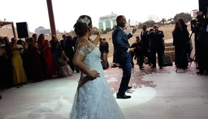 Milagros Leiva se casó 1