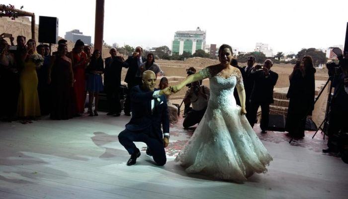 Milagros Leiva se casó 2