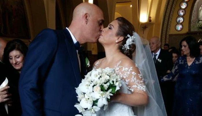 Milagros Leiva se casó 3