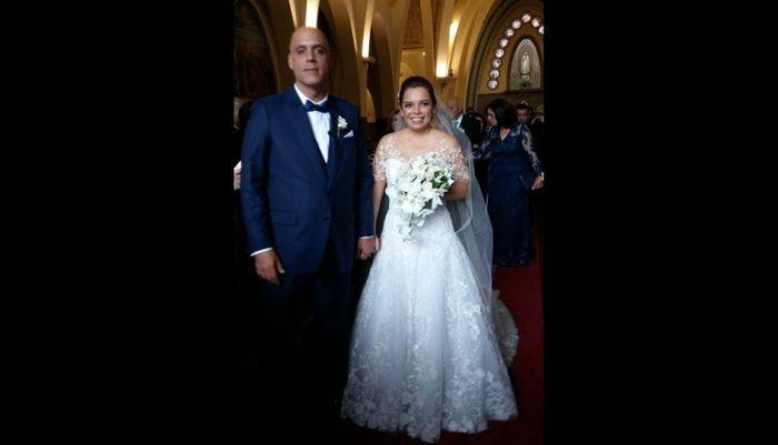 Milagros Leiva se casó 4