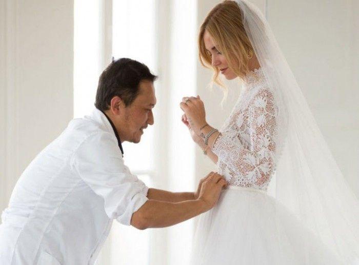 ¿Qué les parece el matrimonio de los italianos Chiara Ferragni y Fedez? 1