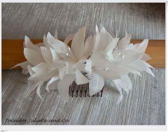 Decoración de matrimonio con plumas 8