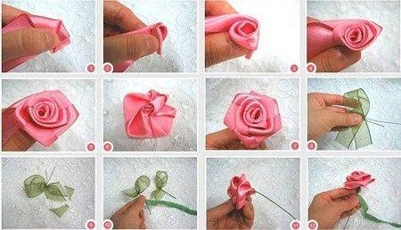 Pasos para hacer rosas