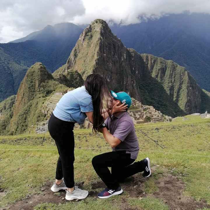 Propuesta en Machu Picchu - 5
