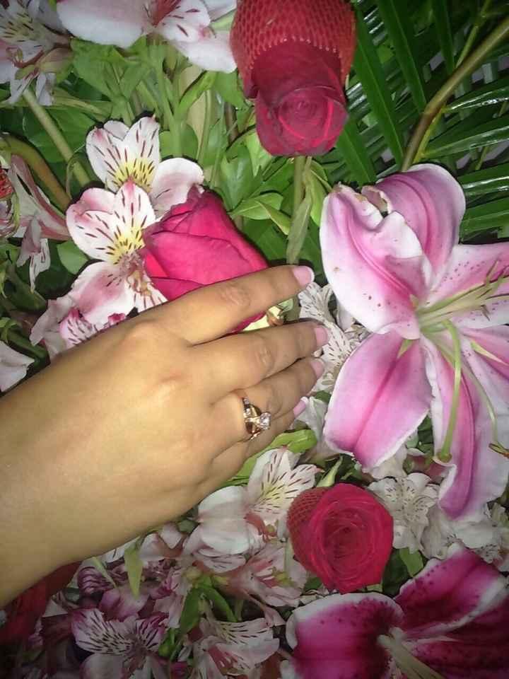 Qué forma tiene tu anillo de compromiso? - 1