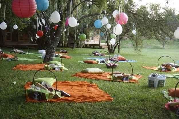 """Boda """"picnic"""""""
