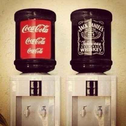 Coca Cola bidón
