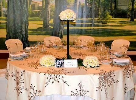 Mesas con mantel o mesas iluminadas - 1