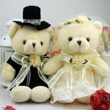 Ayudaaa, ideas de decoración de ositos para boda civil - 1