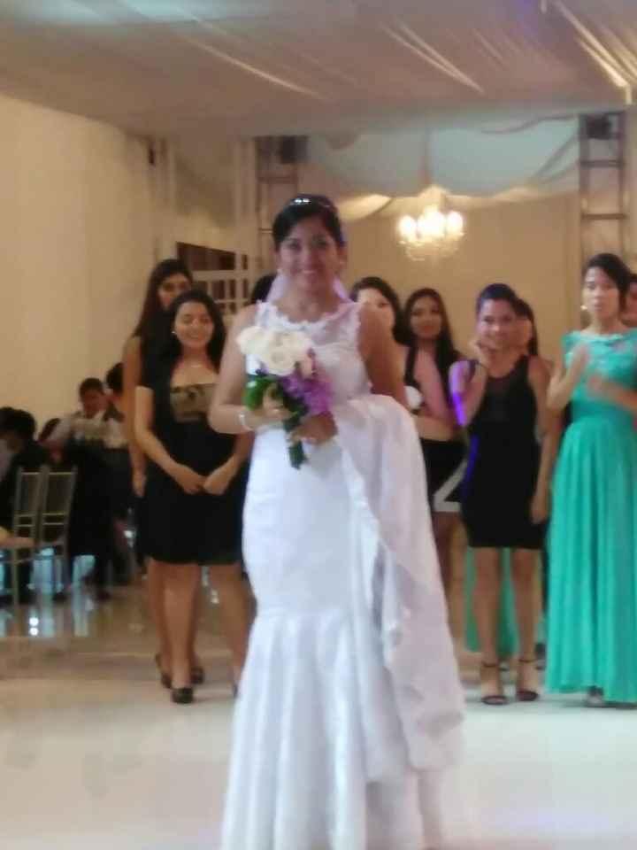 Vestido de novia ~ chiclayo - 1