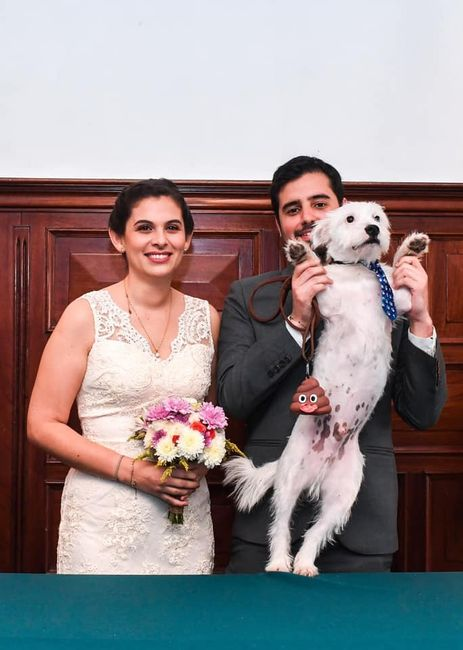 Matrimonio civil en la Municipalidad de Magdalena 1